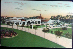 Electric Park Postcard